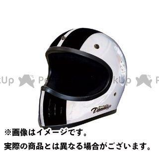 送料無料 ダムトラ ダムトラックス フルフェイスヘルメット BLASTER COBRA-改(ブラスターコブラ カイ) ホワイト M