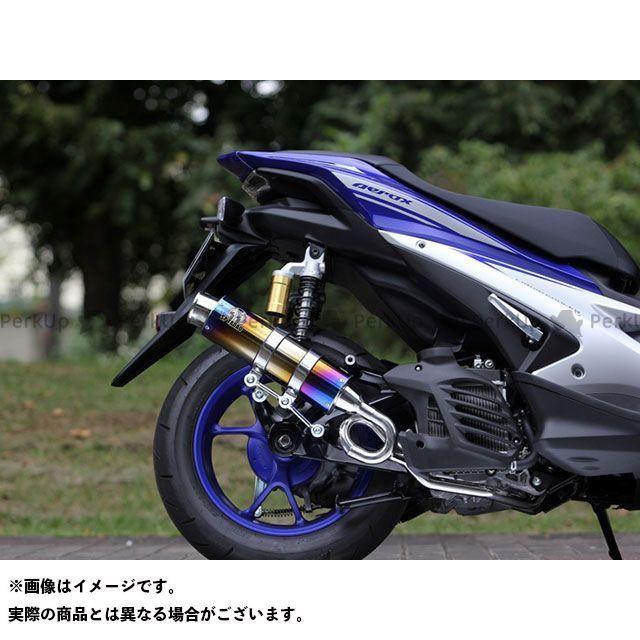 スペシャルパーツタダオ エアロX NVX 125 マフラー本体 PURE SPORT S TitanBlue SP忠男