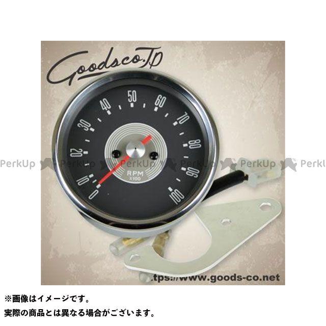 【エントリーで最大P23倍】GOODS SR400 SR500 タコメーター 80φSMITHスタイルタコメーターキット/SR400/500 年式:1985-2002 グッズ