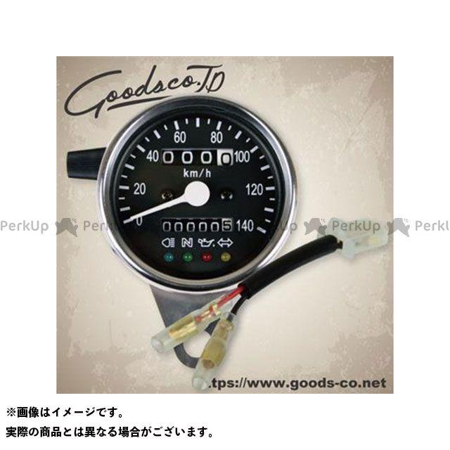 【エントリーで最大P23倍】GOODS SR400 SR500 スピードメーター 60φインジゲータ内蔵スピードメーターキット/SR400/500(93-02)/トリップ付き・LED照明 グッズ