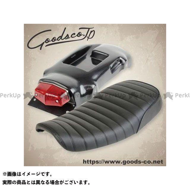 【エントリーで最大P21倍】GOODS SR400 フェンダー キングシート&L525フェンダーレスキット SR400/FI(10-15) カラー:ブラック グッズ