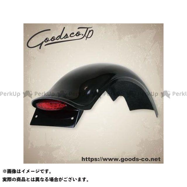【エントリーで最大P21倍】GOODS SR400 SR500 フェンダー ラウンドボブフェンダーキット レッド SR400/500用 グッズ