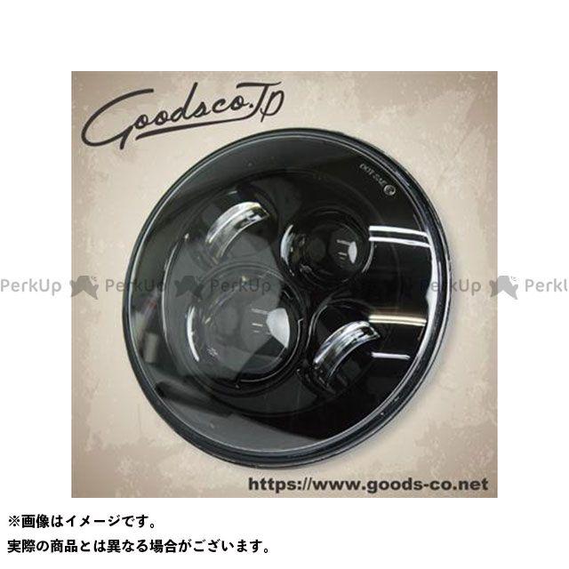 GOODS 汎用 ヘッドライト・バルブ 7インチ プロジェクターLEDヘッドライトユニット