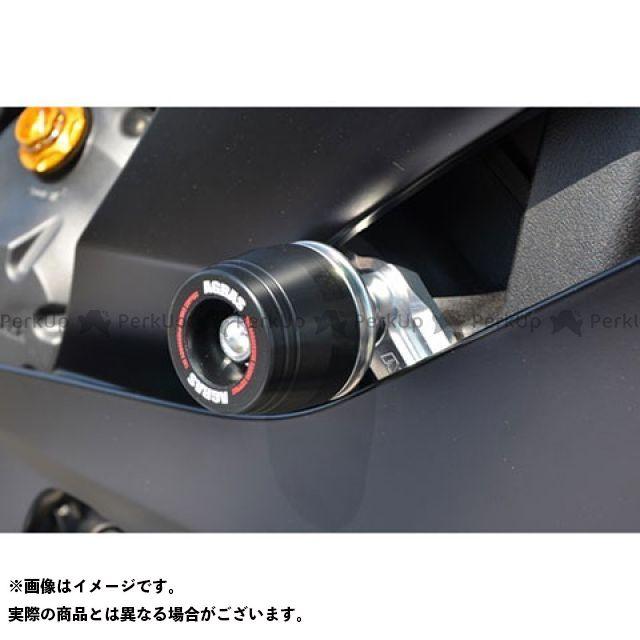 【エントリーで更にP5倍】AGRAS YZF-R6 スライダー類 レーシングスライダー フレーム ジュラコンカラー:ブラック タイプ:ロゴ無 アグラス