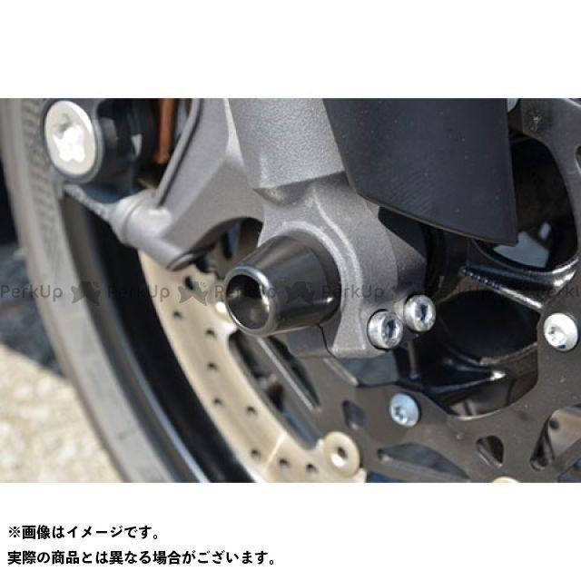 AGRAS YZF-R6 その他サスペンションパーツ フロントアクスルプロテクター コーンタイプ 仕様:アルミ カラー:ブルー アグラス