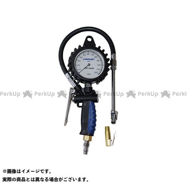 【無料雑誌付き】SIGNET ハンドツール 46967 増減圧機能付タイヤゲージ(0-1200KPA) シグネット