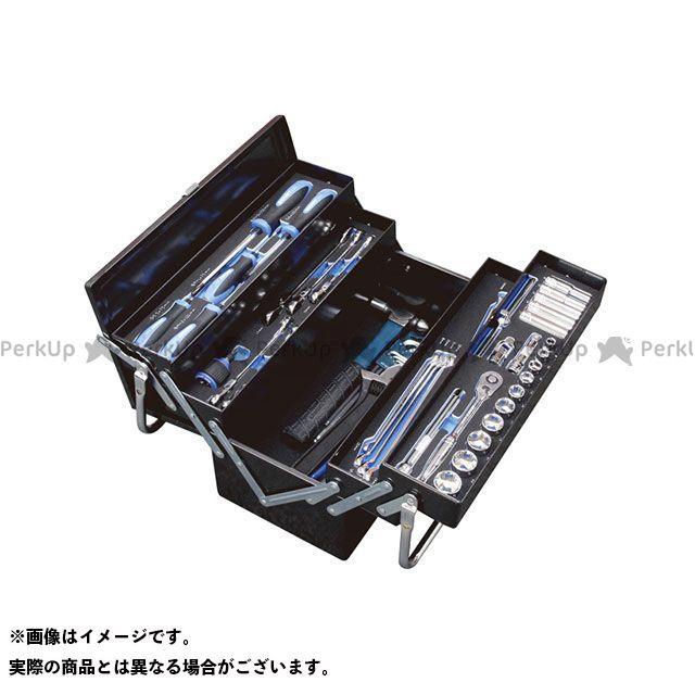 シグネット ハンドツール 54006 メカニックツールセット両開き トレイ付 9.5SQ  SIGNET