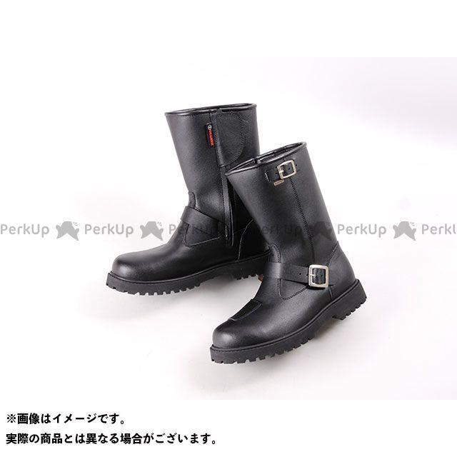 デグナー ライディングブーツ 240WP 防水エンジニアブーツ(ブラック) サイズ:L/26.0-26.5cm DEGNER
