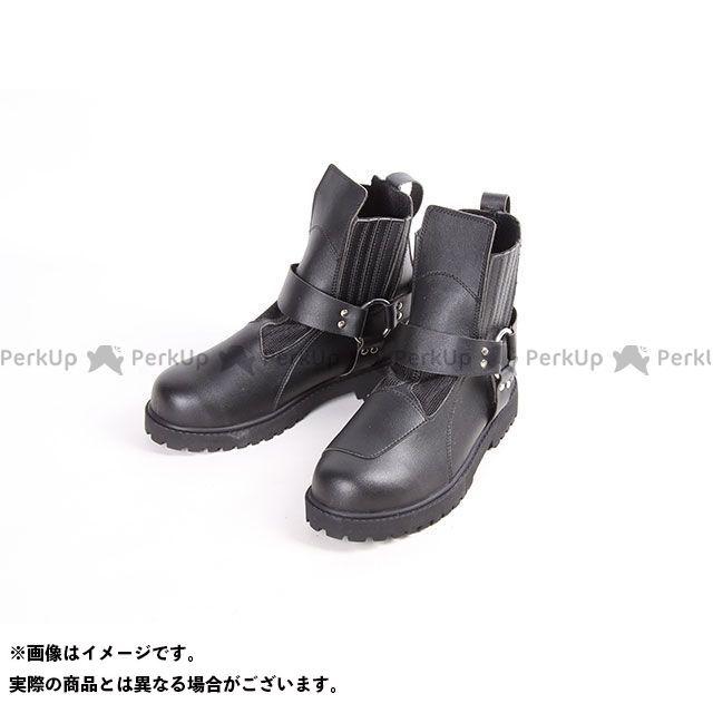 デグナー ライディングブーツ 250M クールメッシュリングブーツ(ブラック) M/25.0-25.5cm DEGNER
