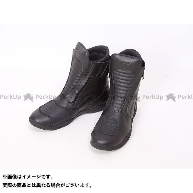 デグナー ライディングブーツ 260WP 防水ツーリングブーツ(ブラック) サイズ:L/26.0-26.5cm DEGNER