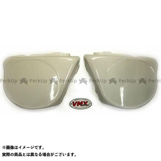 【エントリーで更にP5倍】VMX RACING CR125R カウル・エアロ 1974-75 CR125 サイドパネルセット(ホワイト) VMX