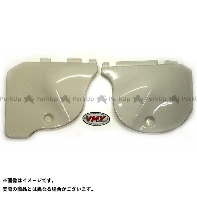 【エントリーで最大P21倍】VMX RACING CR250R カウル・エアロ 1978-79 CR250 サイドパネルセット(ホワイト) VMX