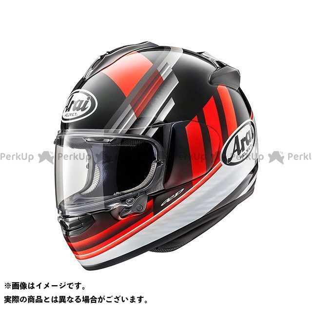 アライ ヘルメット Arai フルフェイスヘルメット VECTOR-X GUARD(ベクターX・ガード) レッド 61-62cm