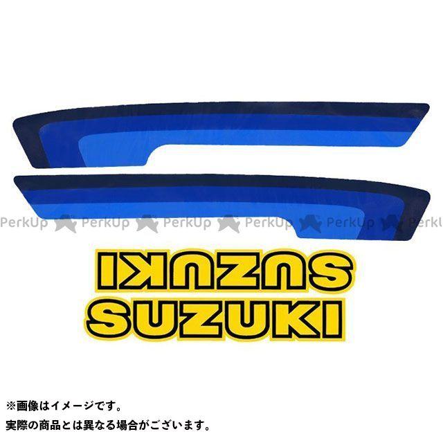 VINTAGE SUZUKI RM125 RM250 ドレスアップ・カバー 1980 RM100-400 タンクデカールセット(4pcs)  ビンテージスズキ
