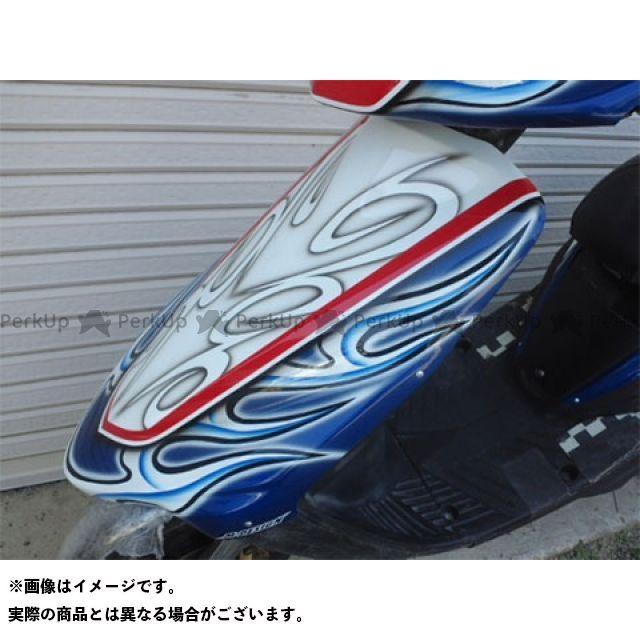 【エントリーで更にP5倍】エムデザイン ジョグ ジョグZ スーパージョグZ カウル・エアロ JOG-Z レーシングフロントフェイス 3YK 3YJ Mデザイン