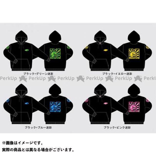 エムデザイン カジュアルウェア M-DESIGN JAPAN パーカー(迷彩緑×黒) サイズ:XL Mデザイン