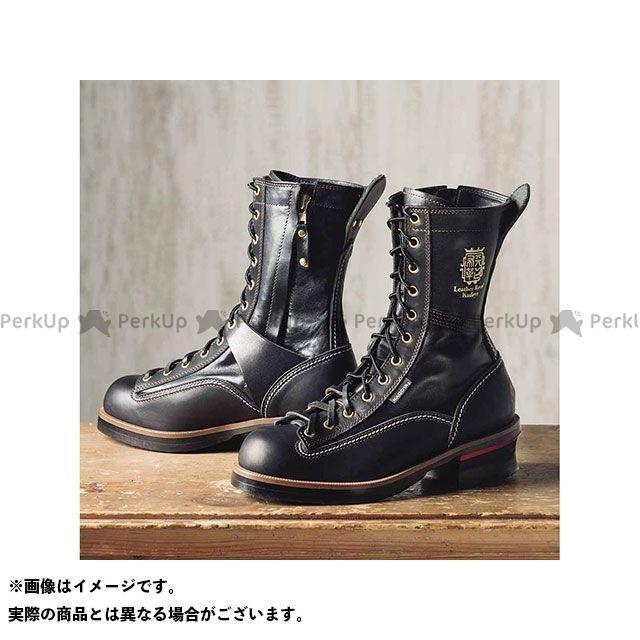 カドヤ ライディングブーツ Leather Royal Kadoya No.4320 RIDE LOGGER(ブラック×ブラック) 24.5cm KADOYA