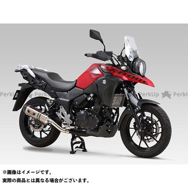 YOSHIMURA Vストローム250 マフラー本体 Slip-On R-77S サイクロン カーボンエンド EXPORT SPEC 政府認証 STBC