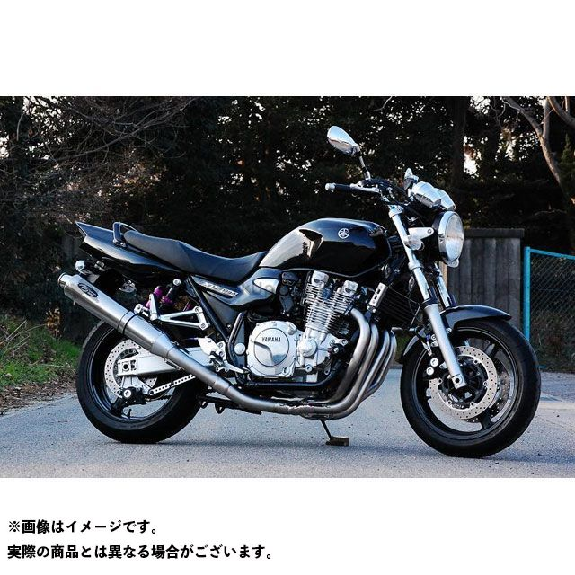 NOJIMA XJR1300 マフラー本体 FASARM S TITAN V/CAT TYPE-SC チタン製V/CATサイレンサー ノジマ