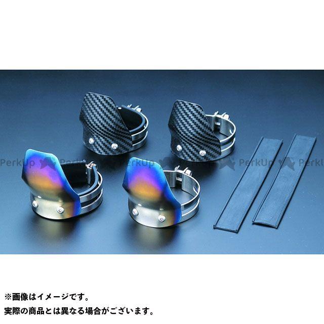 ケイファクトリー その他サスペンションパーツ フロントフォークガード(Mサイズ) 素材:チタン製 Kファクトリー