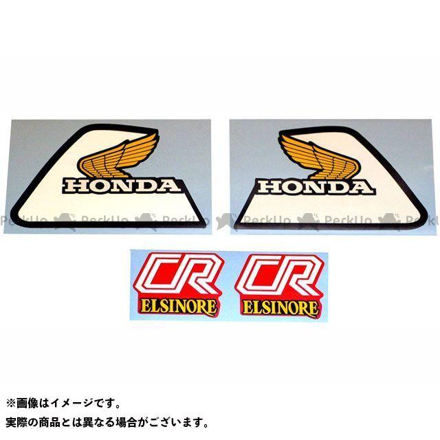ディーシー CR80R ドレスアップ・カバー 1981 HONDA CR80R タンク&サイドパネルデカールセット DC