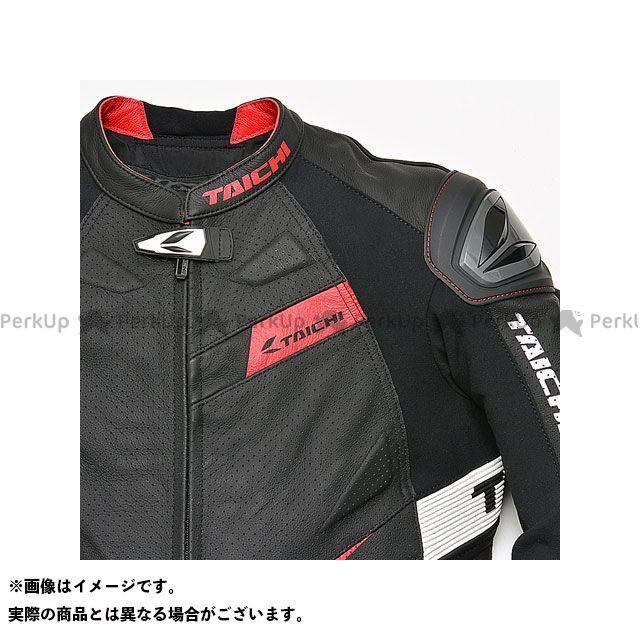 アールエスタイチ ジャケット RSJ832 GMX アロー レザージャケット(ブラック/レッド) サイズ:54/XXL RSタイチ