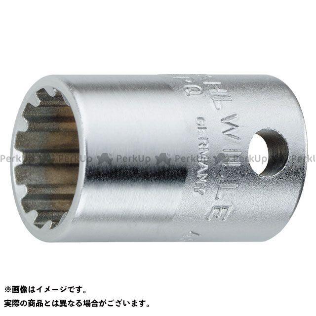 """スタビレー ハンドツール 45ASP-12(3/8SQ)スプラインソケット3/8""""(02011012) STAHLWILLE"""