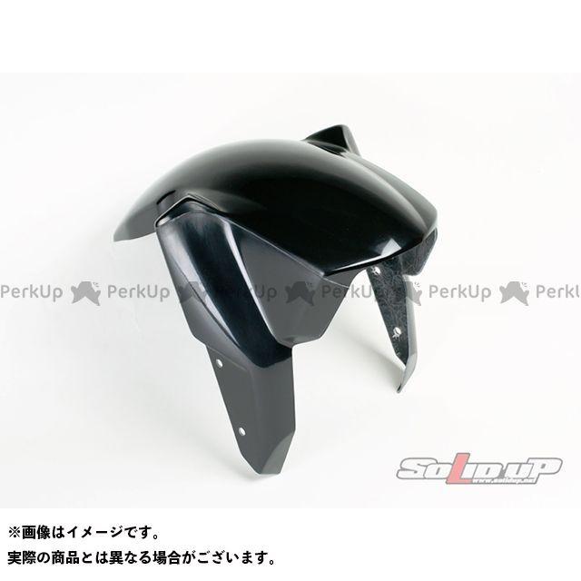 SOLID UP モンキー フェンダー モンキー(RSフォーク)用 フロントフェンダー FRP製黒ゲルコート