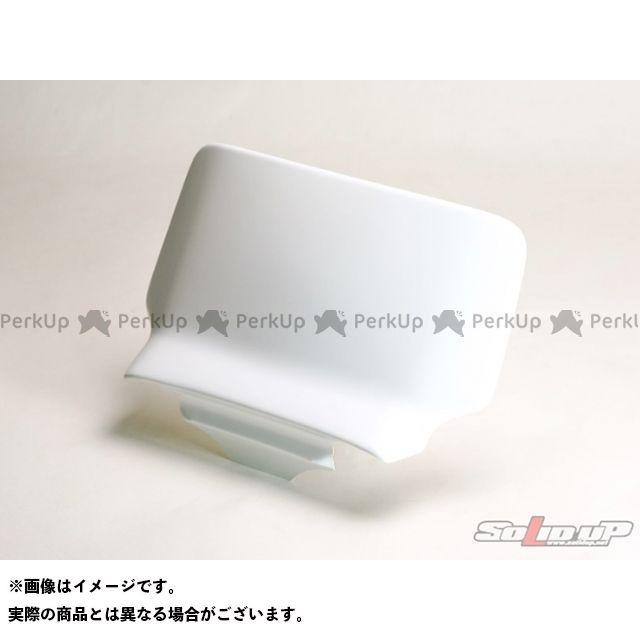 【エントリーで最大P23倍】SOLID UP モンキーバハ メーターカバー類 モンキーバハ用 メーターバイザー 素材:FRP製白ゲルコート ソリッドアップ