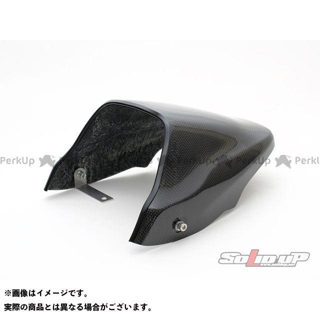 SOLID UP モンキーR カウル・エアロ モンキーR用 シートカウル 素材:CFRP製/カーボン/平織りクリアーゲルコート ソリッドアップ
