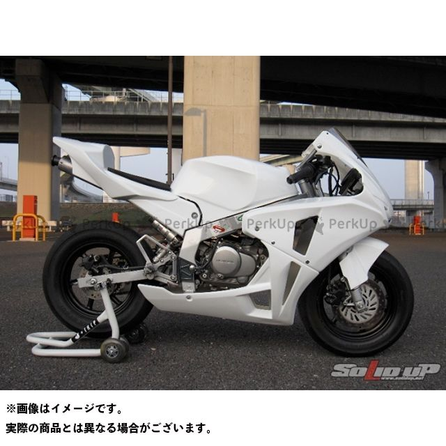 SOLID UP NSF100 外装セット NSF100用 08:CBR1000RRレプリカ 耐久5パーツKIT2 カラー:白ゲル ソリッドアップ