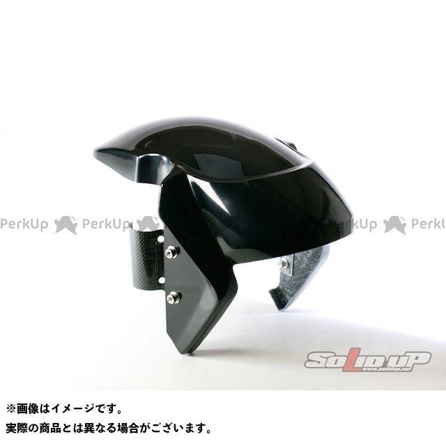 SOLID UP ズーマー フェンダー ズーマー(DioZXフォーク)用 フロントフェンダー FRP製黒ゲルコート ソリッドアップ