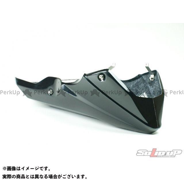 SOLID UP グロム カウル・エアロ グロム用 レーシングアンダーカウル 素材:FRP製黒ゲルコート ソリッドアップ