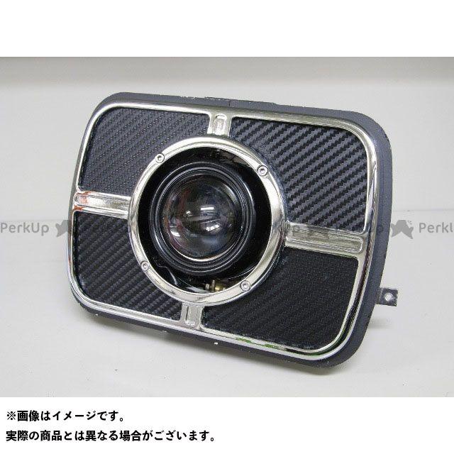 送料無料 PROTEC ZRX1200ダエグ ヘッドライト・バルブ LH-3170 LEDプロジェクターヘッドライト 角目タイプ 3000K