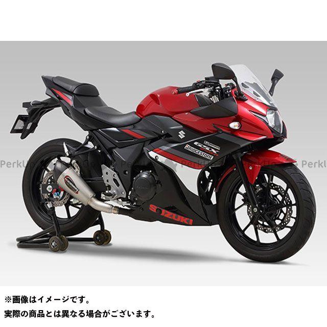 YOSHIMURA GSX250R マフラー本体 USヨシムラ Slip-On ALPHA-Tサイクロン 政府認証 SSC ヨシムラ