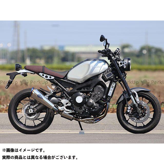 R's GEAR MT-09 トレーサー900・MT-09トレーサー XSR900 マフラー本体 ワイバンリアルスペック シングル(チタン/チタンエンド) アールズギア