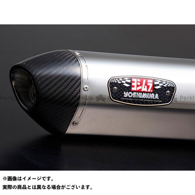 YOSHIMURA グロム マフラー本体 機械曲R-77S サイクロンカーボンエンド TYPE-Down EXPORT SPEC 政府認証 SSC ヨシムラ