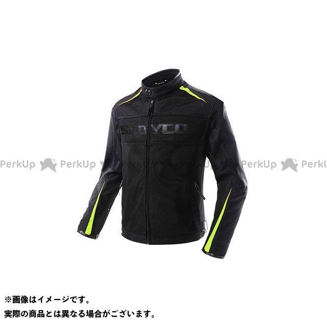 SCOYCO ジャケット JK63 Hunter メッシュライディングジャケット(グリーン) サイズ:L スコイコ