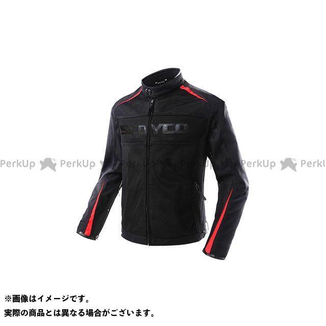 SCOYCO ジャケット JK63 Hunter メッシュライディングジャケット(レッド) サイズ:2XL スコイコ
