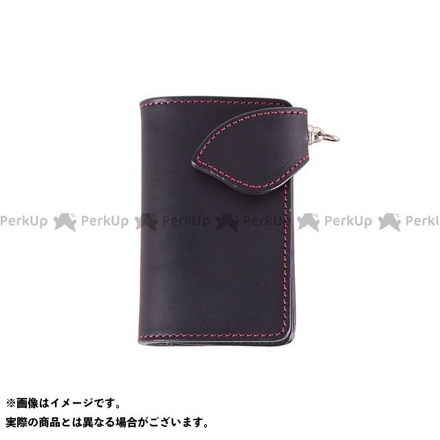 デグナー 財布 W-95 ミドルウォレット(ブラック/レッド) DEGNER