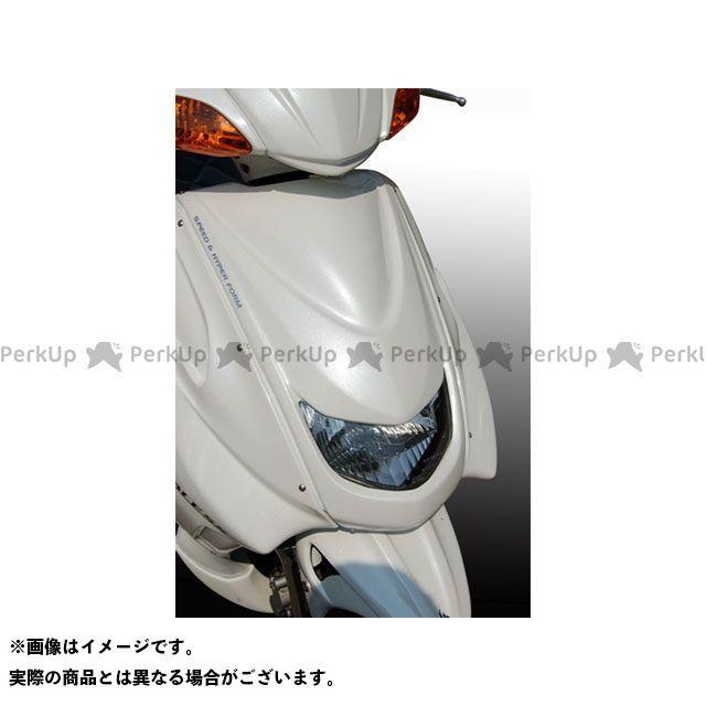 【エントリーで更にP5倍】BLESS CREATION シグナスX カウル・エアロ フロントフェイスカウル(FRP 一般色塗装品) カラー:ホワイトメタリック1 ブレスクリエイション