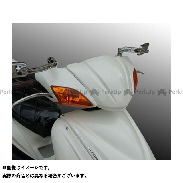 BLESS CREATION シグナスX カウル・エアロ アッパーバイザーカウル(FRP 一般色塗装品) カラー:ホワイトメタリック1 ブレスクリエイション