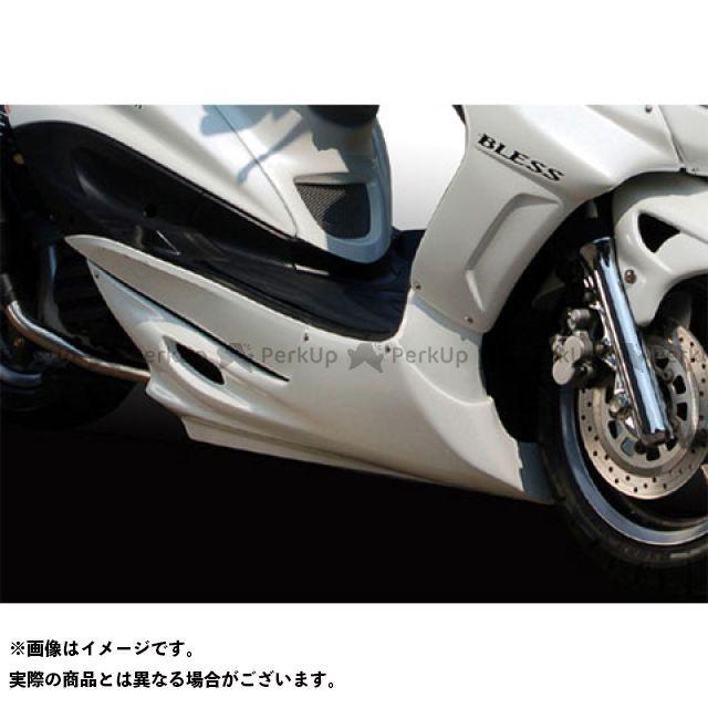 BLESS CREATION シグナスX カウル・エアロ フロントアンダーカウル(FRP 一般色塗装品) カラー:ホワイトメタリック1 ブレスクリエイション