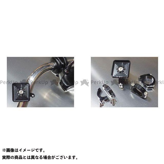 イチコクサイクルワークス ハーレー汎用 電子機器類 ETC ビレットアンテナステー(日本無線JRM-11用) 仕様:ハンドルクランプSET(φ25.4) 一国サイクルワークス