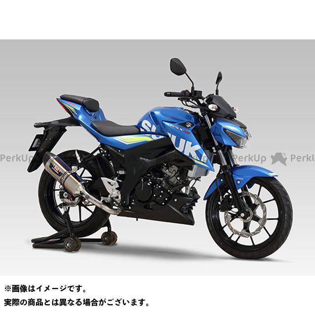 【エントリーで最大P21倍】YOSHIMURA GSX-S125 マフラー本体 機械曲R-77S サイクロン カーボンエンド EXPORT SPEC 政府認証 STBC ヨシムラ
