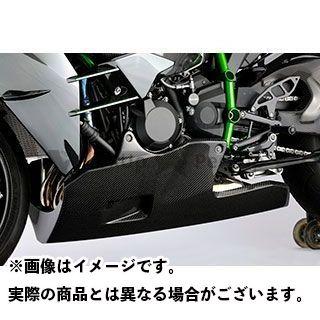 【特価品】Magical Racing ニンジャH2(カーボン) カウル・エアロ アンダーカウル(オイルキャッチ構造) 材質:平織りカーボン製 マジカルレーシング