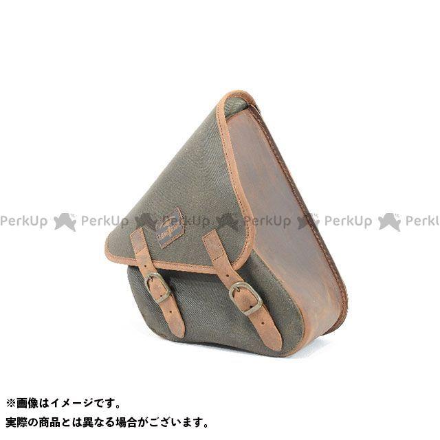 【エントリーで更にP5倍】LONGRIDE ツーリング用バッグ スイングアームバッグ ワックスコットン SPORTSTER(カーキ) ロングライド