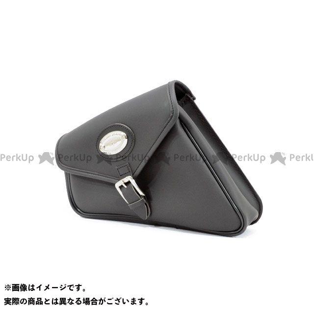 【エントリーで更にP5倍】LONGRIDE ツーリング用バッグ スイングアームバッグ シンセティックレザー SPORTSTER(ブラック) ロングライド