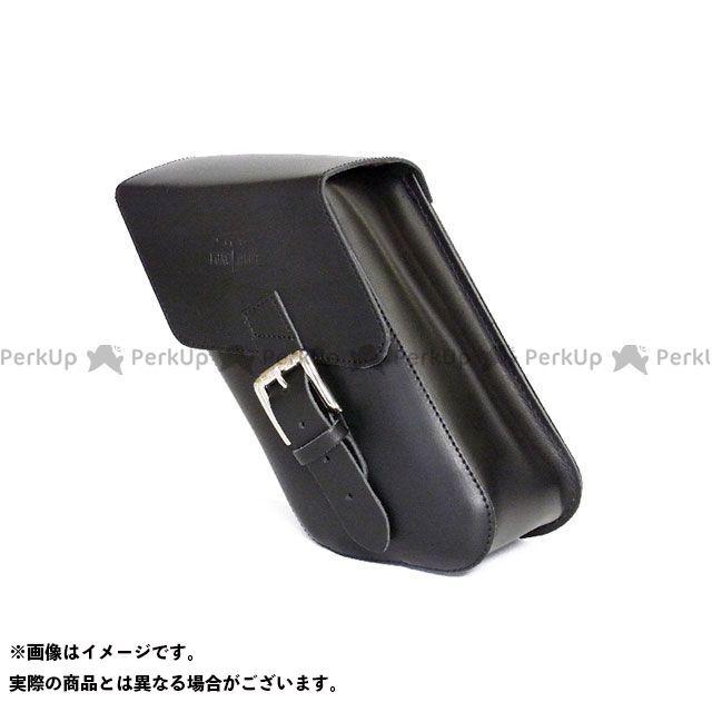LONGRIDE ツーリング用バッグ スイングアームバッグ レザー DYNA(ブラック) ロングライド