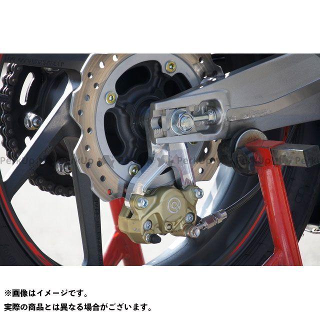 【エントリーで更にP5倍】OVER RACING CBR250RR キャリパー Rキャリパーサポート ブレンボ2P用(シルバー) オーバーレーシング